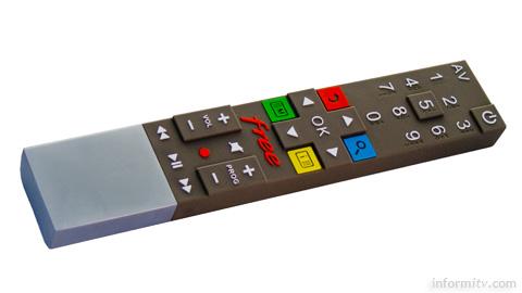 The Free Revolution remote control.
