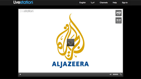 Al Jazeera is one of the global news channels available online through Livestation.