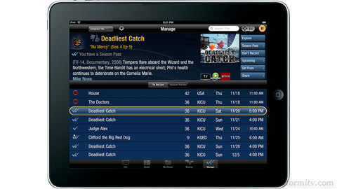 The TiVo app reinvents the remote control .