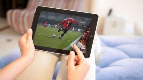 Netgem nCloud software permits channel flipping of live television on an iPad in the connected home.