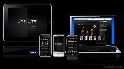 SyncTV now available as a white label solution, delivering across a range of devices and displays.