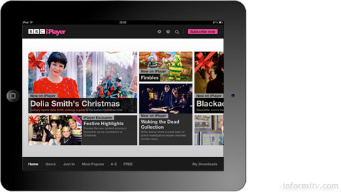 The global BBC iPlayer is available in North America for the first time, but currently only on the Apple iPad.
