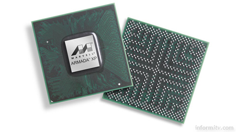 Marvell Armada 1500 chip supports Google TV.