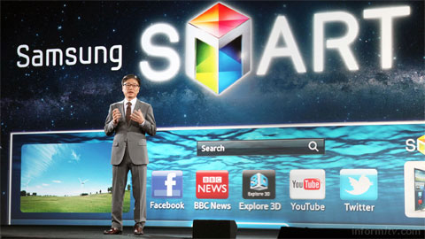 Boo-Keun Yoon, President and Head of Consumer Electronics division at Samsung Electronics.