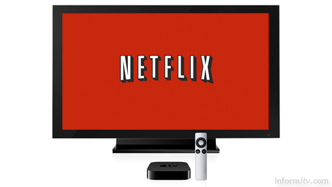 Launching in the United Kingdom and Ireland, Netflix is immediately available on a wide range of devices, including the Apple TV.