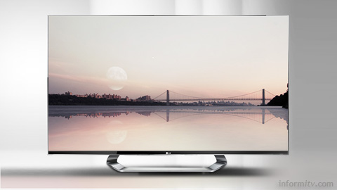 84LM9600 display from LG offers 4K resolution, four times that of full high-definition television.
