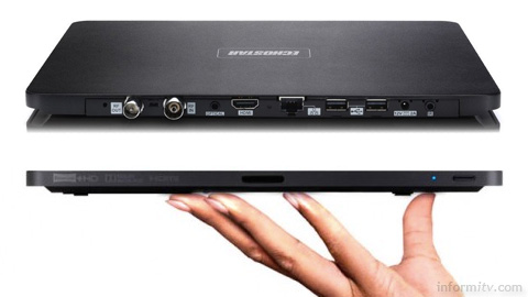 EchoStar HDT-610R claimed to be the slimmest digital video recorder in the world.