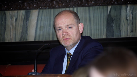 Mark Thompson, the outgoing director general of the BBC, one of the backers of YouView.