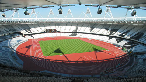 Olympic viewing plans reflect changing media usage. The London 2012 stadium. Photo: London 2012.