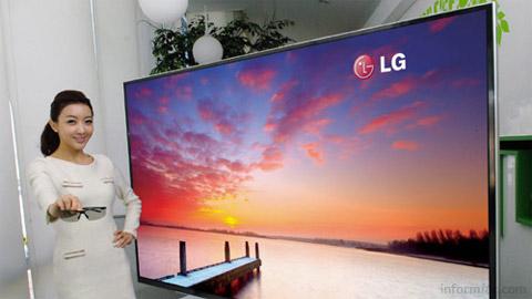 LG 84-inch UD 3D TV