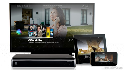 The Horizon proposition from Liberty Global offers a multiscreen experience.
