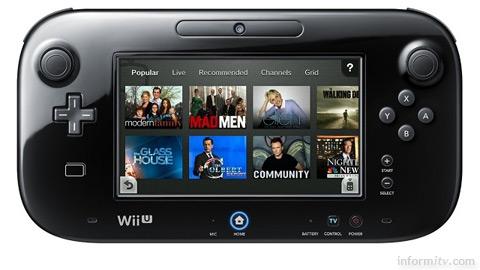 Nintendo Wii U GamePad. Image courtesy Nintendo.