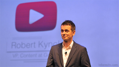 Robert Kyncl, the global head of content at YouTube, which announced a further 60 channels of original thematic programming at the MIPCOM trade show.