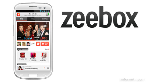 Second screen app zeebox changes channels for good.