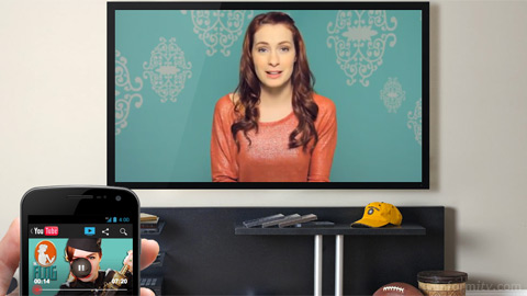 The Send to TV function of the YouTube app is now available on Apple iOS devices.