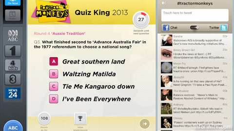 The ABC Companion offers access to playalong elements of certain programmes.