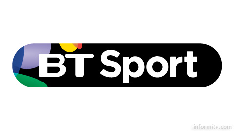 BT Sport logo, designed by Red Bee Media, which will play out the BT Sport channel.