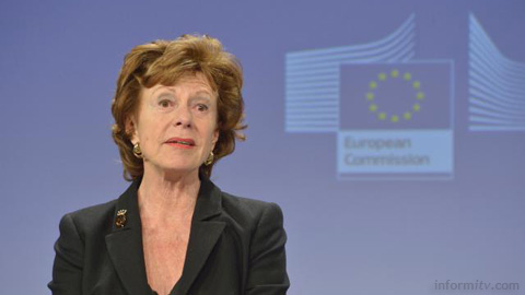 Neelie Kroes, Vice-President of the EC in charge of the Digital Agenda for Europe. Photo: EC Audiovisual service.