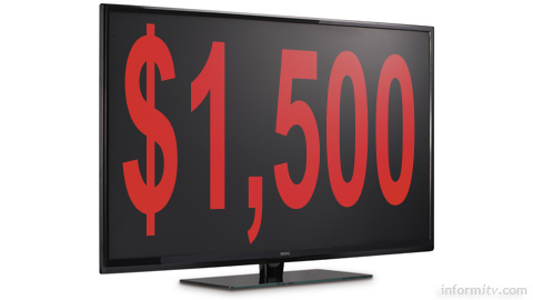 Seiki SE50UY04 Ultra-high-definition television for less than $1,500.