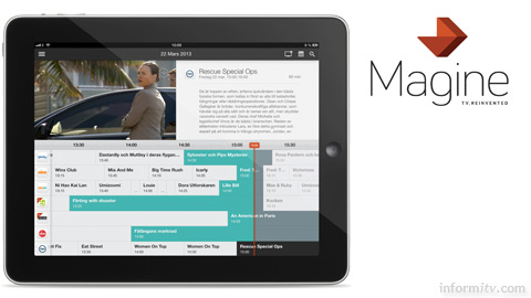 Magine imagines television across multiple devices and displays, without the need for a set-top box.