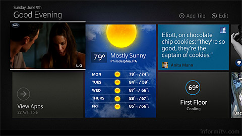 Comcast introduces the X2 update to its platform.