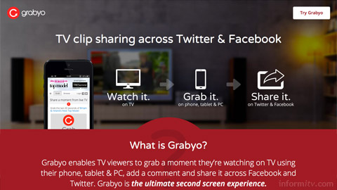 Grabyo enables viewers to share clips from shows.