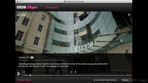 The BBC iPlayer Downloads app replaces the previous download manager which was based on Adobe AIR.