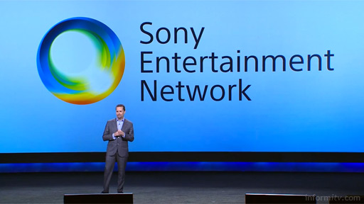 Andrew House, Sony Network Entertainment. Source: Sony keynote video