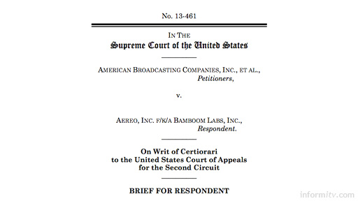 Aero brief in Supreme Court of the United States case