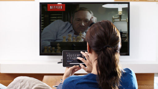 Netflix faces the economic reality of online video as it delivers drama like House of Cards. Image: Netflix