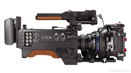 AJA CION 4K production camera. Photo: AJA Video Systems.
