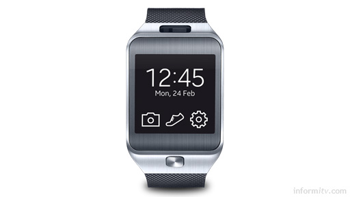 Samsung Gear 2 watch.