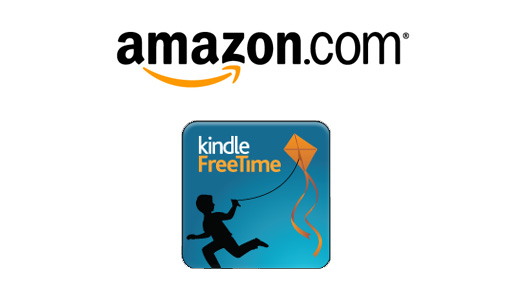 Amazon kindle FreeTime branding