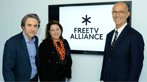 Free TV Alliance launch at IBC in Amsterdam. Photo: Free TV Alliance.