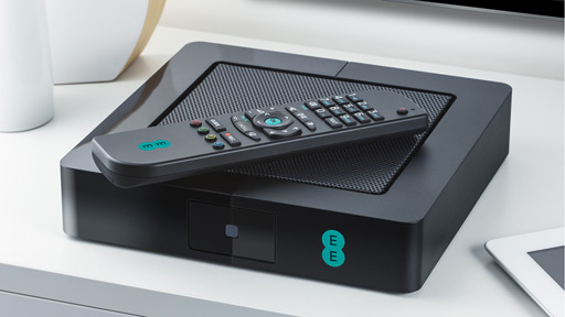 EE TV box from Netget. Photo: EE