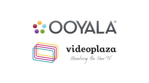 Ooyala and Videoplaza logos