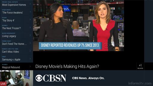 CBSN is a new online news network from CBS.