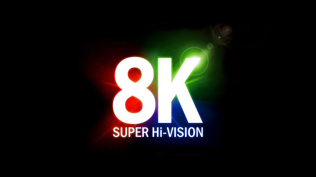 The 8K Super Hi-Vision format promoted by NHK has a resolution of 7680x4320 pixels.