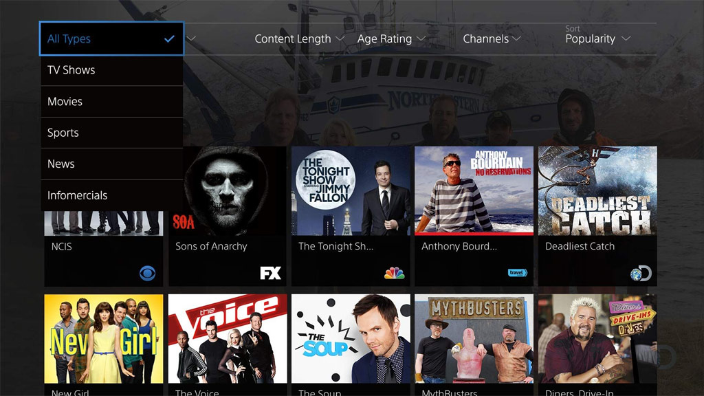 Sony PlayStation Vue - online television and video service