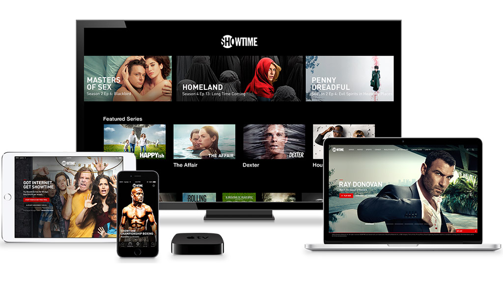 Showtime standalone service initially available on Apple devices.