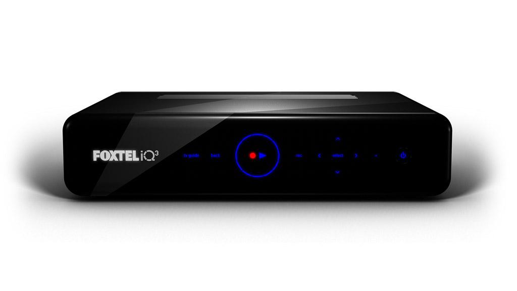 Foxtel iQ3 digital video recorder.