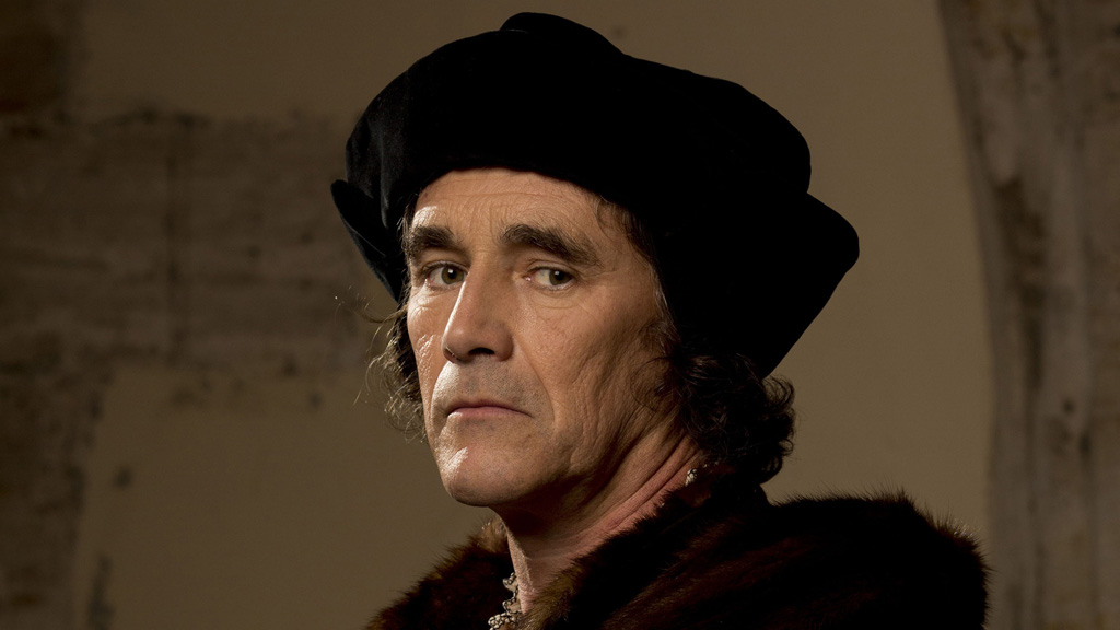Wolf Hall - Mark Rylance as Thomas Cromwell in the adaptation of the Hilary Mantel novels.