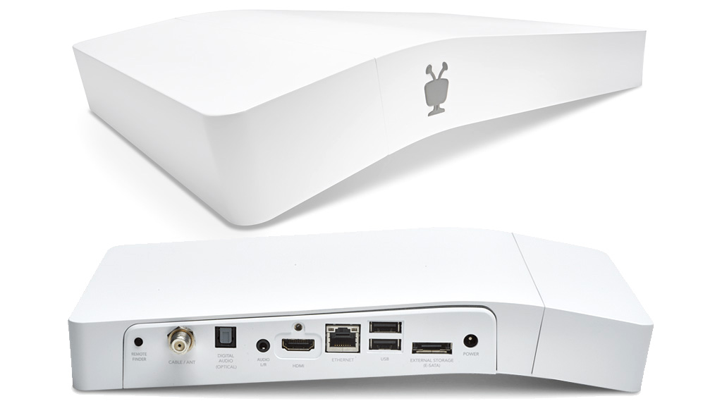 TiVo Bolt, a 4K capable box with SkipMode for skipping ads.