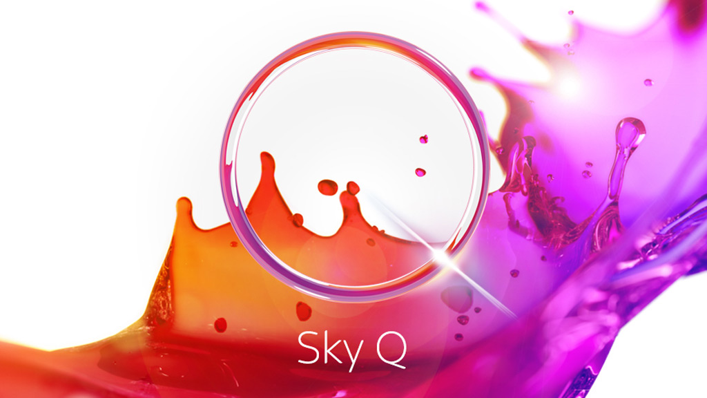 Sky Q fluid viewing experience.
