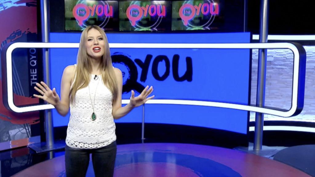 The QYOU - presenter led blocks of short form video programming.