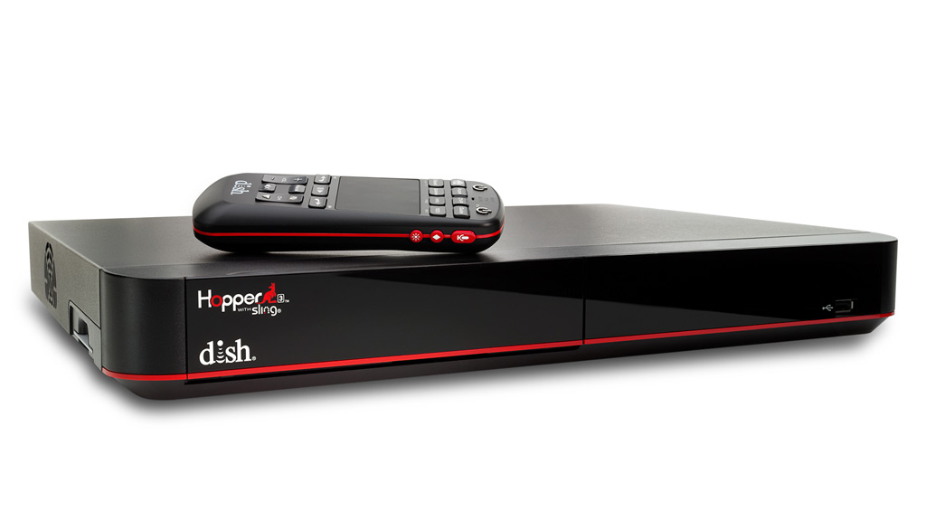 Dish Network Hopper 3 digital video recorder with 16 tuners.