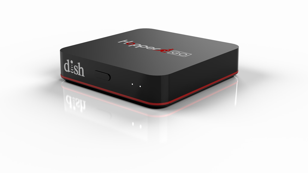 DISH Network HopperGo portable media storage and player.