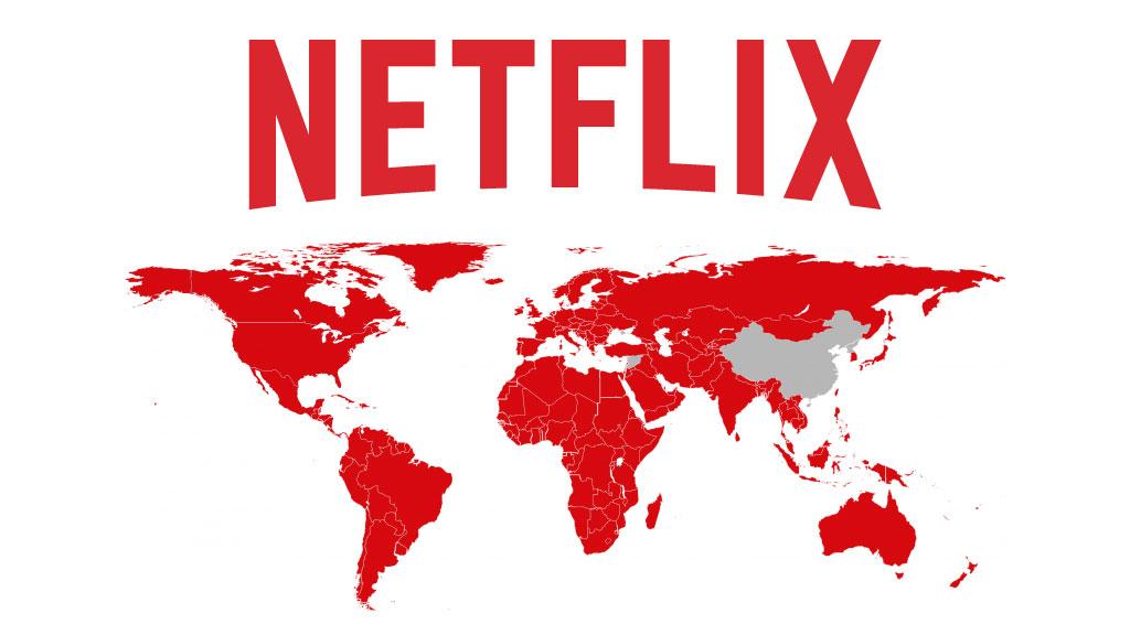 Netflix availability worldwide. Source: Netflix