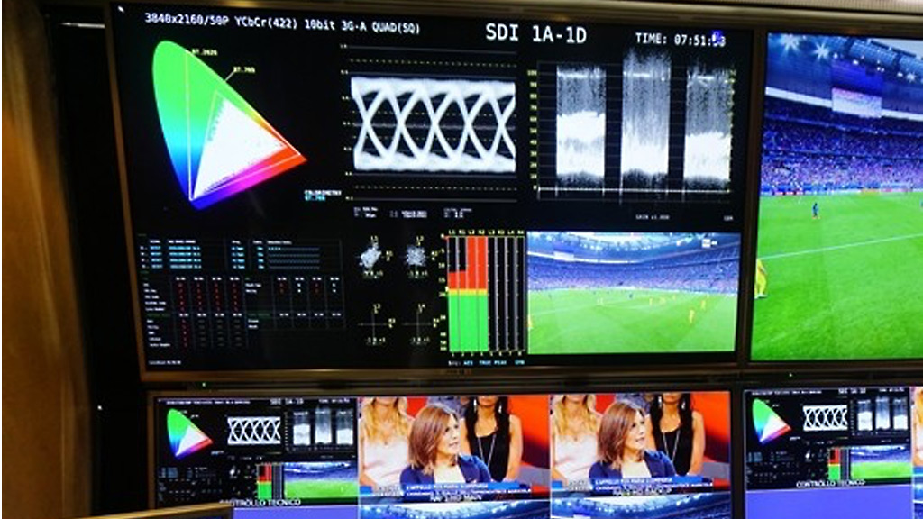 Eutelsat and RAI provide ultra-high-definition coverage of EURO 2016 with contribution feeds using V-Nova PERSEUS compression.