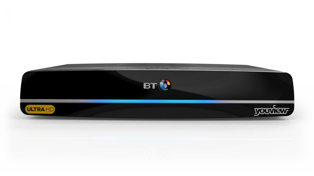 BT YouView box.